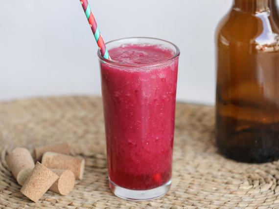 Licuado de mix de frutos rojos 500 ml