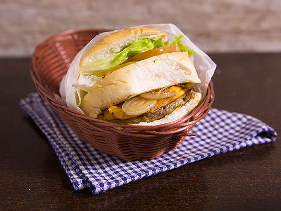 20 - Sanduíche picanha cheddar