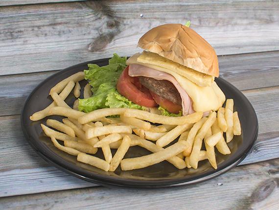 Sándwich de hamburguesa especial