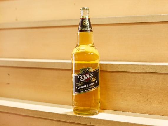 Cerveza Miller 1 L retornable