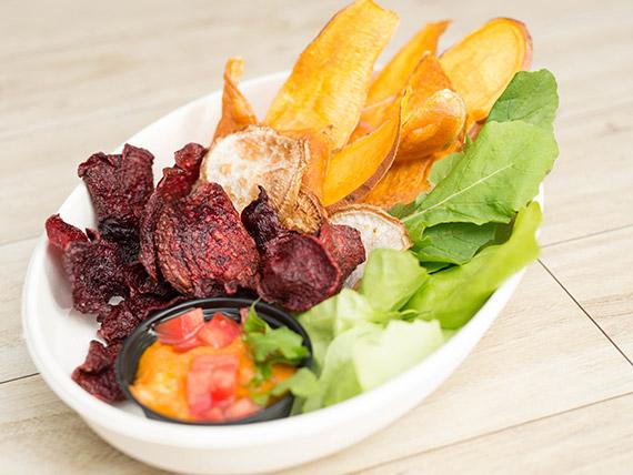 12 - Chips veggies