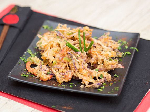 Vegetales tempura