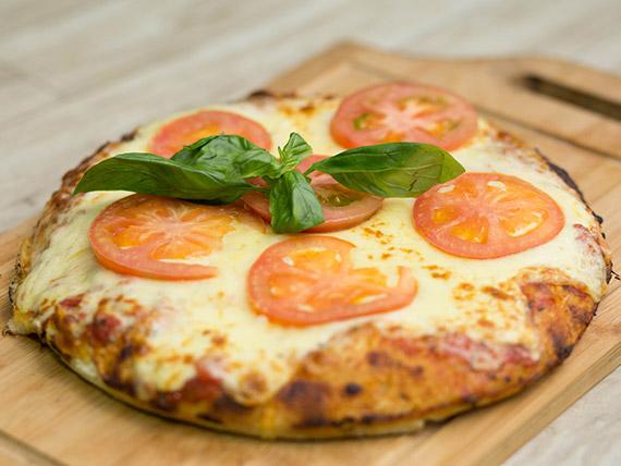 Pizzeta con muzzarella y gustos