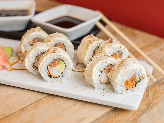 17 - White prawns roll (8 piezas)