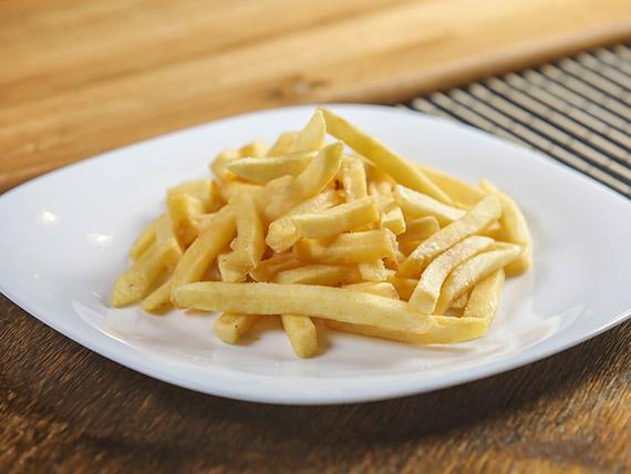 Porción de papas fritas