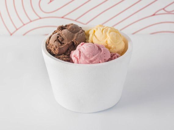 Promo - 1 kg de helado clásico