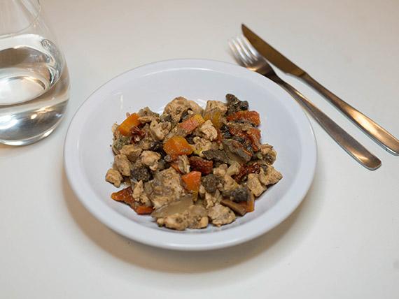 19 - Cazuela de pollo y hongos