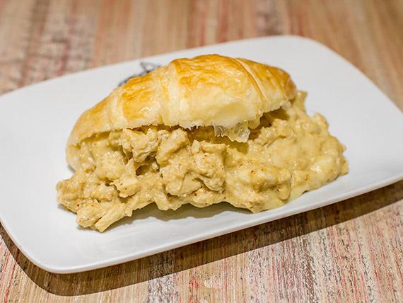Croasonho frango com mostarda e mel