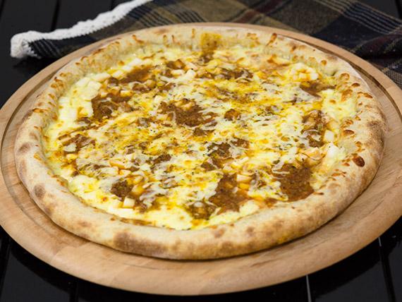 Pizza palmito à bolonhesa grande