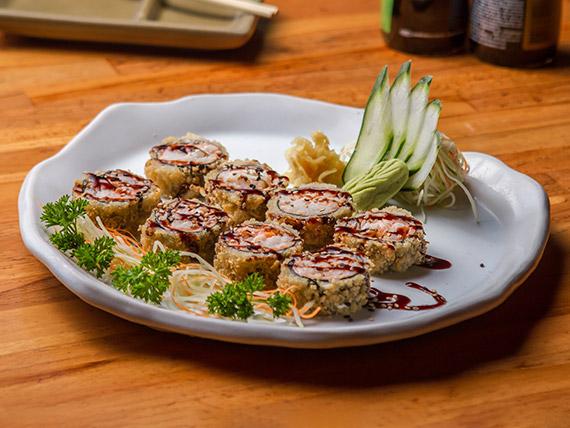 Hot roll de camarão (8 unidades)