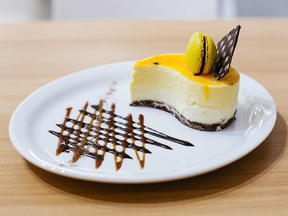 Torta maracuyá (porción)