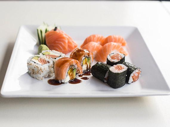 Combinado de salmón - 10 piezas