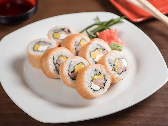 Sake roll (8 piezas)