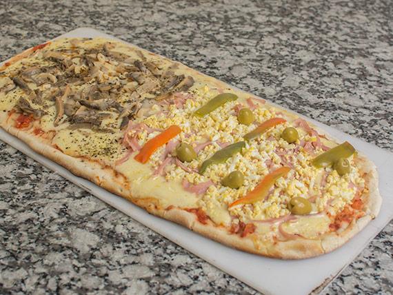 48 - Pizza entera personalizada a la parrilla