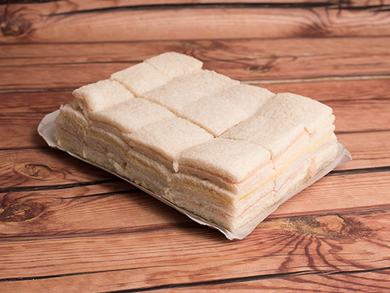 Promo 6 - Sándwiches simples de jamón y queso (50 unidades)