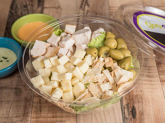 1 - Green César salad