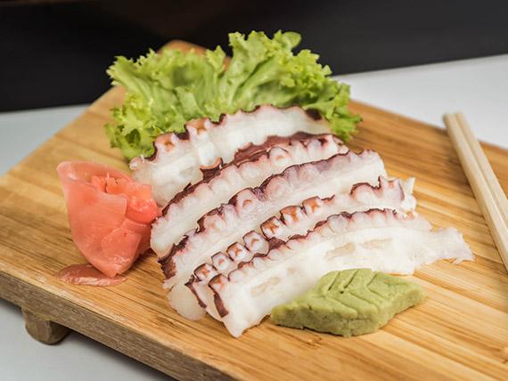 102 - Sashimi de pulpo