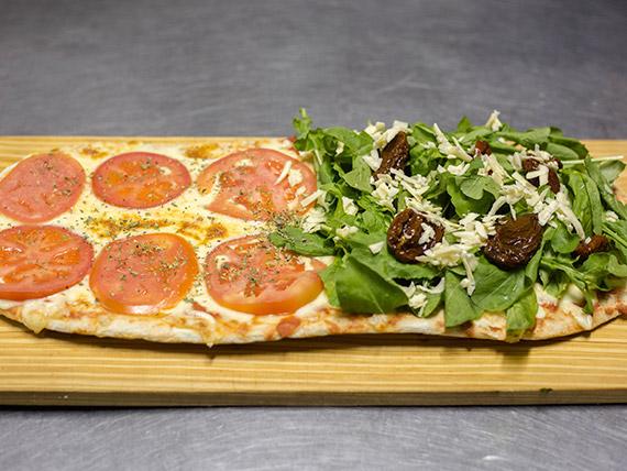Pizza mitad y mitad (8 porciones)