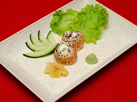 20. Gunkamaki salmão roll (6 unidades)