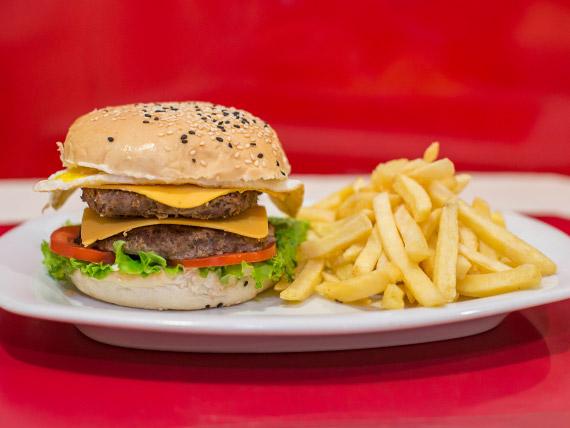 Plan B burger