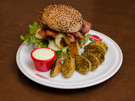 Hambúrguer - gran picanha