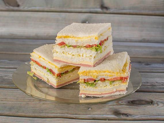 Sándwiches simples surtidos especiales (48 unidades)