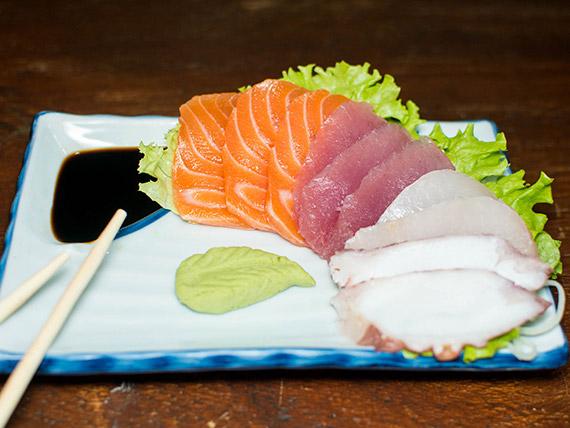 YO! Combinado sashimi mini (10 peças)
