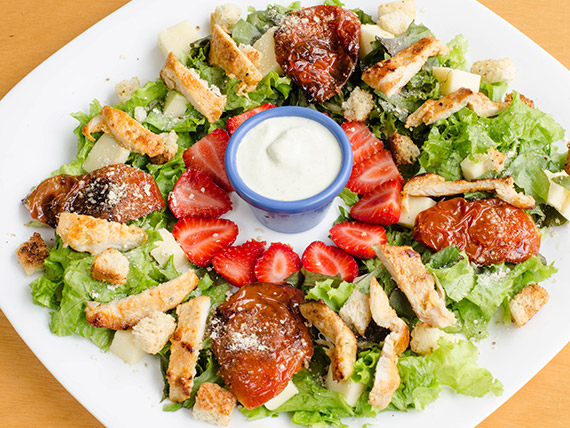 Salada gourmet - chicken salad