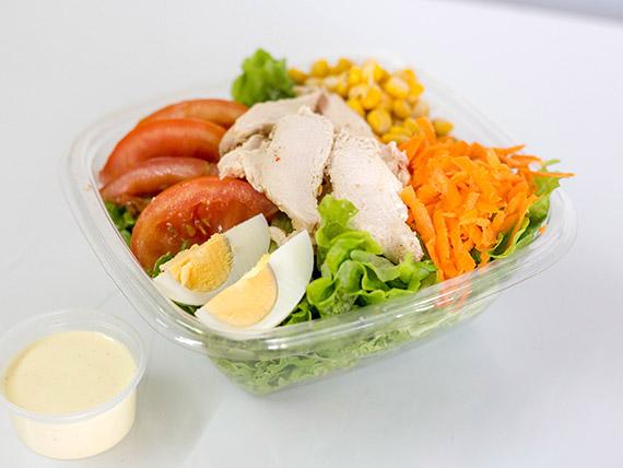 Ensalada gourmet de pollo