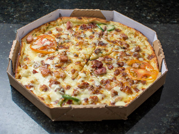 Pizza bacon grande