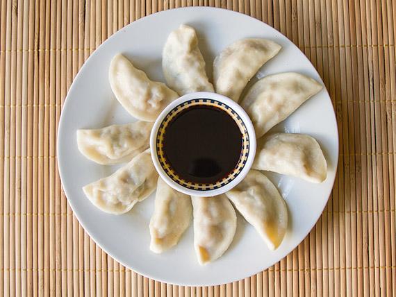 3 - Empanada china al vapor