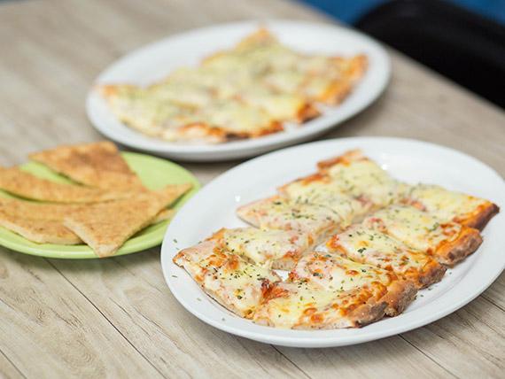 Promo - Medio metro de pizza muzzarella + fainá