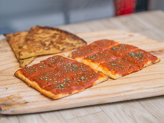 Promo 3 - 2 Pizzas + 2 Fainá