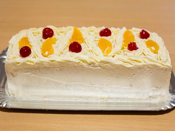 Torta gateau de durazno