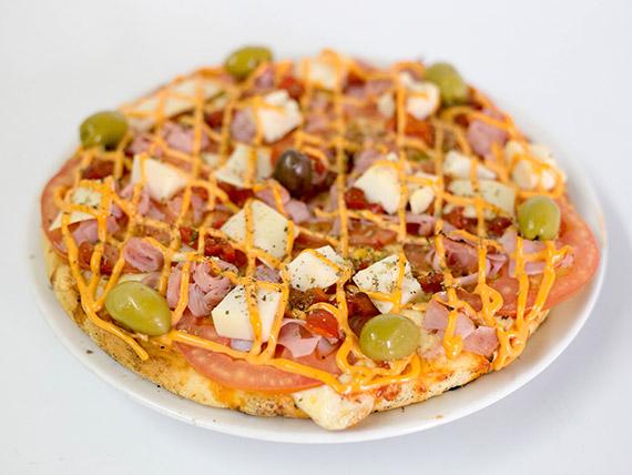 Pizza gran Milos