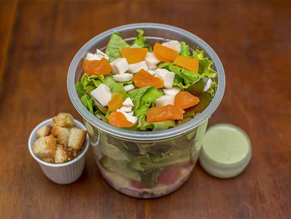 Salada de presunto (332 kcal)