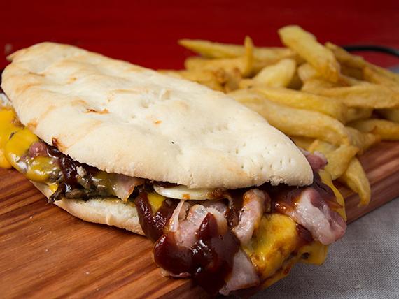 Sándwich de lomito King