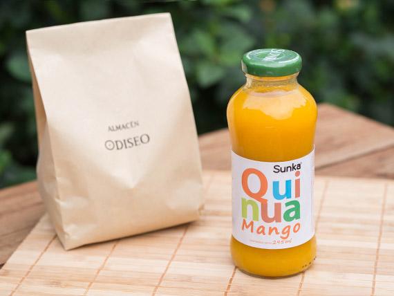 Jugo nectar de quinoa y mango 295 ml