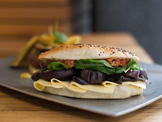 Sándwich veggie blunt