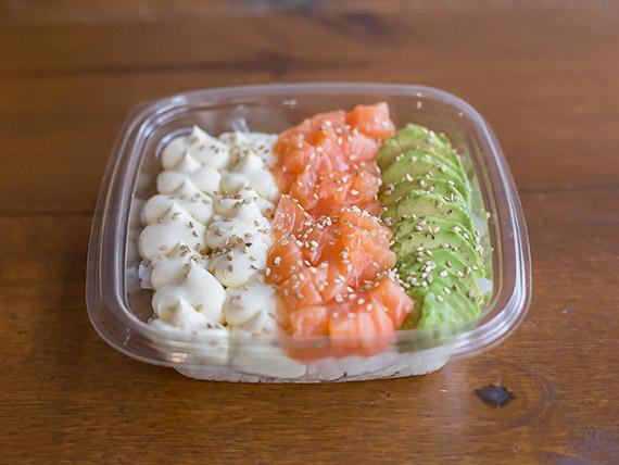 Armá tu ensalada de sushi