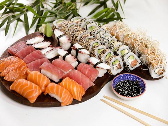 Combo sushi manía - 51 piezas
