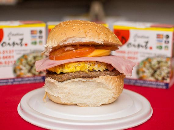 Sanduíche G1 - X-egg-bacon