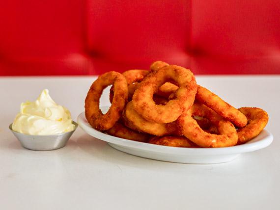 Porção onion ring