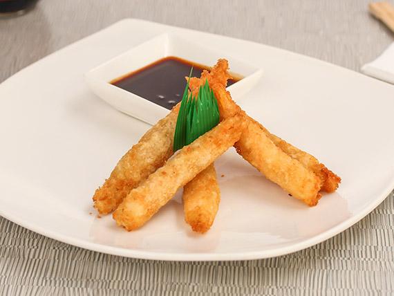 Ebi tempura (5 unidades)