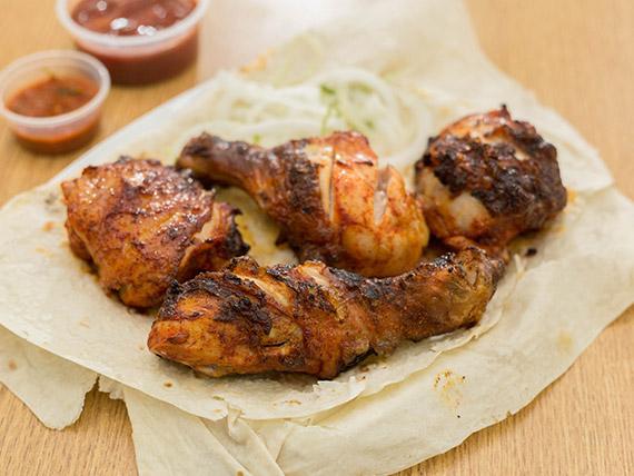 Pata y muslo de pollo