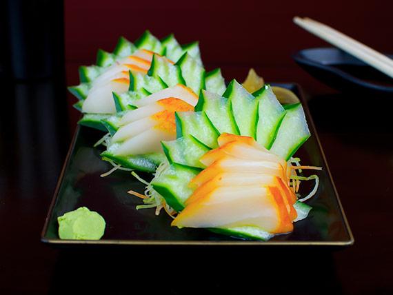 Sashimi haddock (15 unidades)