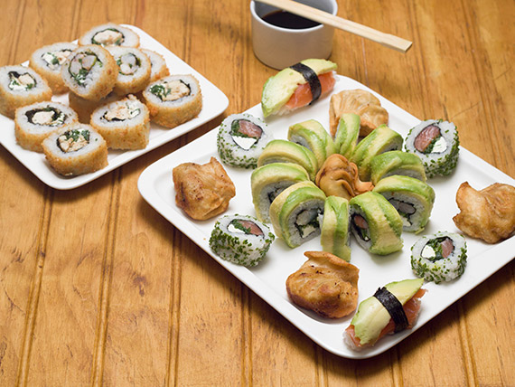 Promo 3 - Sushi rolls (35 piezas)