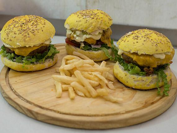 Promo - 3 hamburguesas