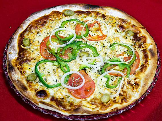 3 - Pizza frango média