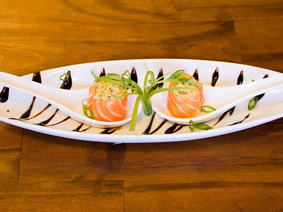 Sushi especial joy maracujá (8 peças)